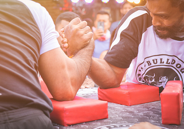 Does Size Matter in Arm Wrestling?