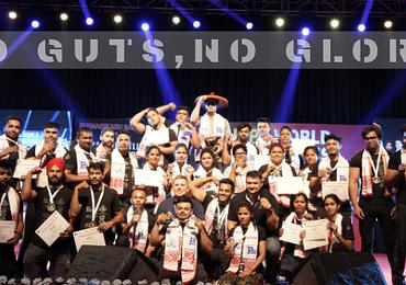 Results- Armwrestling Showdown URPA World Ranking Series (Guwahati'19)
