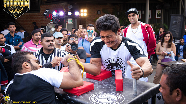 Bulldog Armwrestling, Arm wrestling India, AWS Bengaluru, AWS Bangalore, Indian Arm wrestling, Bulldog Sportz, Armwrestling Showdown