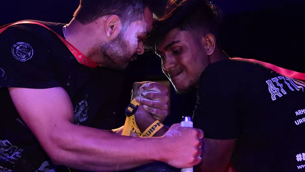 Arm wrestling, Bulldog Armwrestling, Arm wrestling India, URPA Guwahati, Armwrestling Showdown, PAL, URPA, Indian Arm wrestling